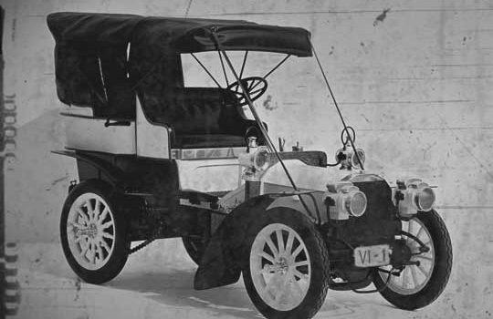 Primera Matriculación de un coche en Vitoria - Gasteiz - Fiat Prima
