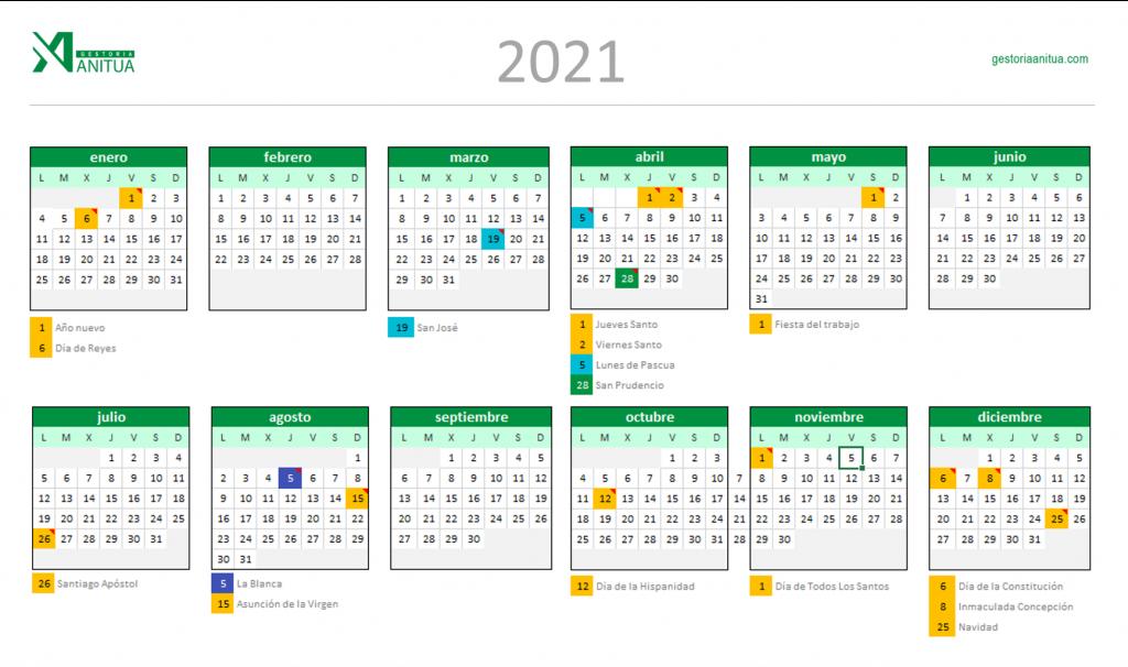 Calendario-Laboral-Vitoria-2021-Gestoría-Anitua