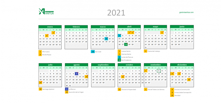 Calendario-Vitoria-2021-Gestoria-Anitua